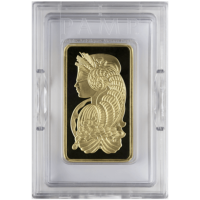 10 OZ GOLD BAR PAMP