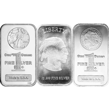1 OZ SILVER RECTANGLE