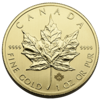 Protected: 1 OZ CANADIAN GOLD MAPLE LEAF .9999 FINE – In-Store