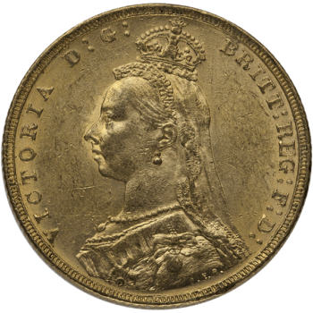 ENGLISH GOLD SOVEREIGN OLD QUEEN