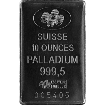 10 OZ PALLADIUM BAR PAMP
